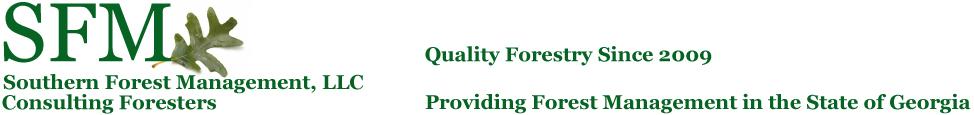 SFM Forestry Logo